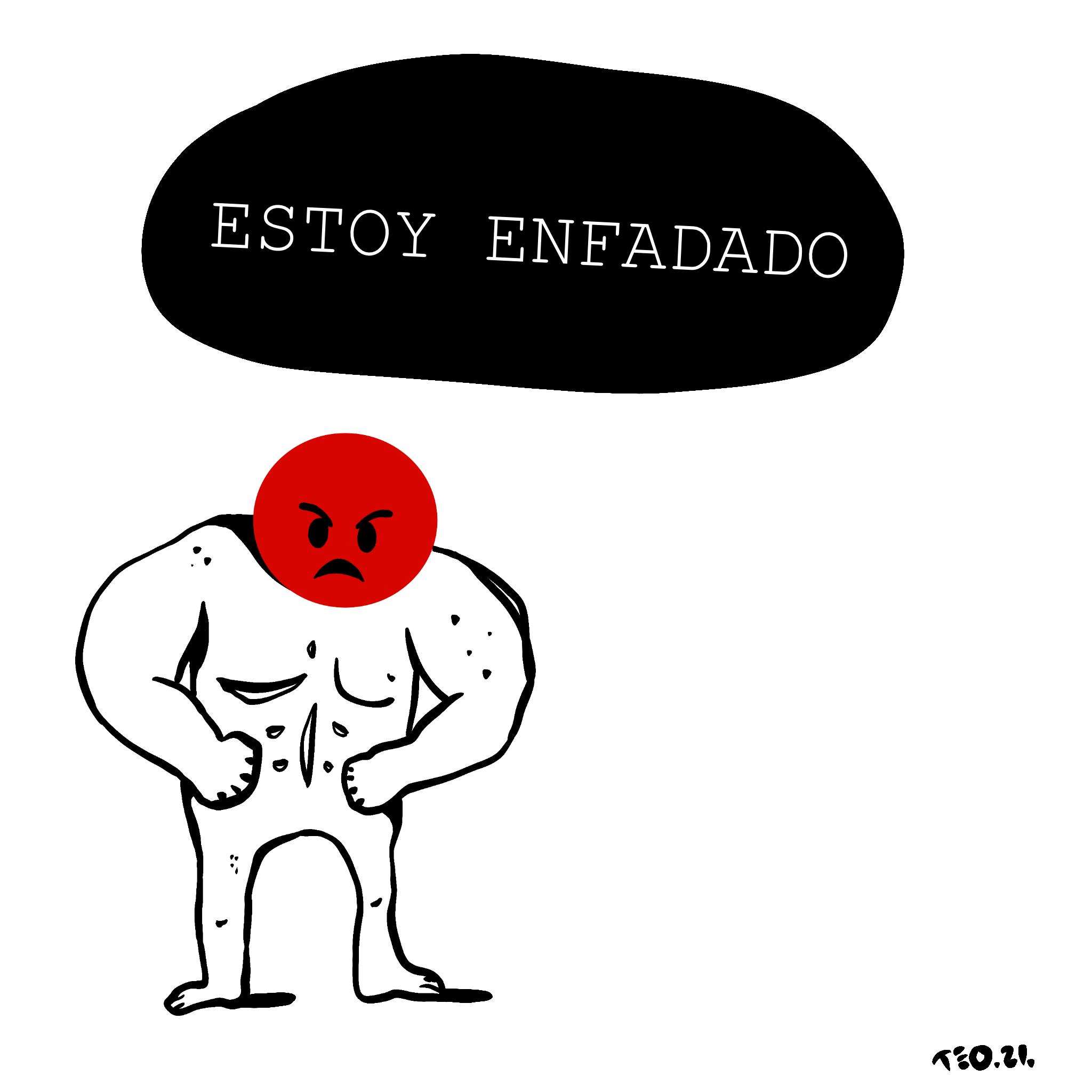 Estoy enfadado, de Teo Martín Fontela